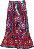 Paperdoll Girls 7-16 Maxi Boho Printed Skirt