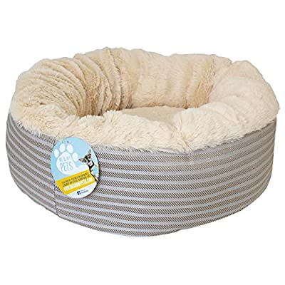 Me & My Super Soft Doughnut Pet Bed For Cats Puppies & Small Dogs