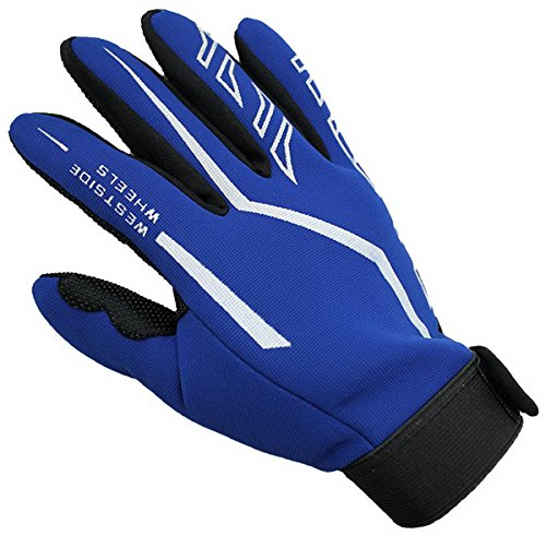 Non-Slip Cycling Gloves Mountain Bike Gloves Road Racing Bicycle Gloves Full Finger Riding Gloves