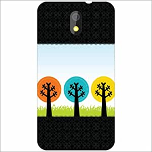 HTC Desire 326G dual sim Back Cover - Silicon Journey Designer Cases