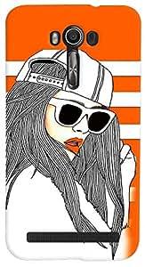 PrintVisa 3D-ASZFGO-D7769 Girly Fashion Cool Case Cover for Asus Zenfone Go ZC500TG