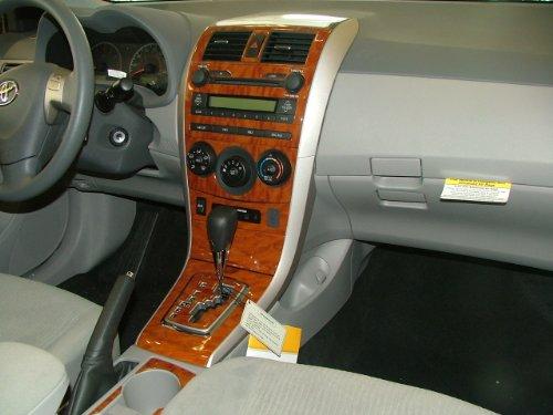 TOYOTA COROLLA INTERIOR WOOD DASH TRIM KIT SET 2009 2010 2011 2012 (Wood Dash Kit For Corolla compare prices)