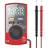 Etekcity UT120C Auto Ranging Digital Multimeter (DMM) Multi Tester Voltmeter Ammeter Ohmmeter - AC / DC Voltage & Current, Resistance, Continuity, Diodes Tester, Relative Measurement