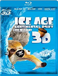 Ice Age: Continental Drift 3D (Bilingual) [Blu-ray 3D + Blu-ray + DVD + Digital Copy]