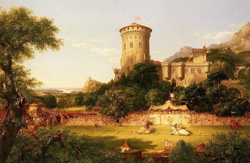 Artifact Puzzles - Thomas Cole Castle Wooden Jigsaw Puzzle
