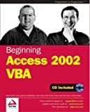 img - for Beginning Access 2002 Vba book / textbook / text book