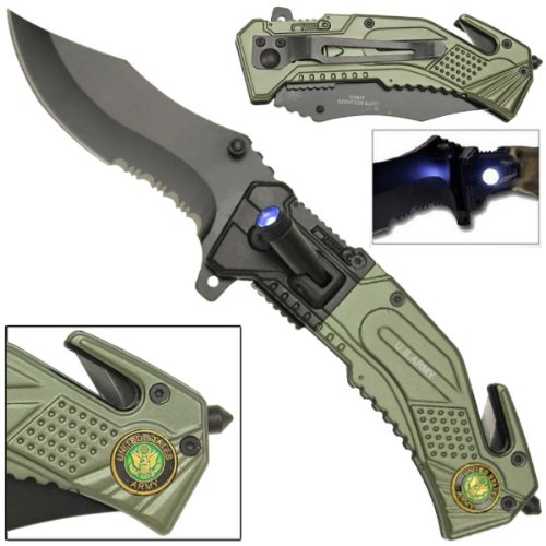 US Army Knife LED Light