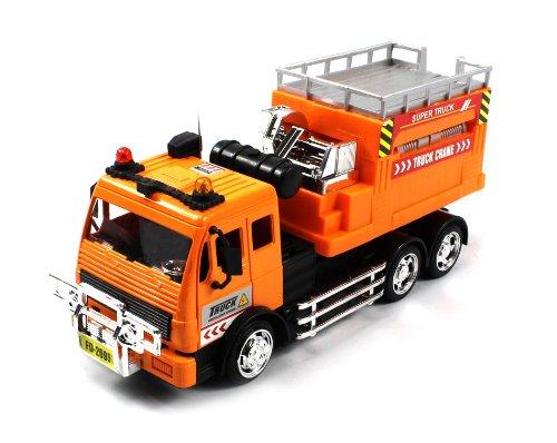 Scissor Lift Electric Rc Truck Pt-Construction 1:18 Led Ready To Run, Full Function W/ Rising Lift Platform