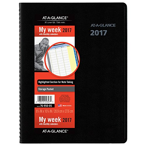 at-a-glance-weekly-monthly-appointment-book-planner-2017-quicknotes-8-1-4-x-10-7-8-black-7695005