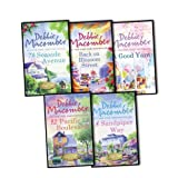 Debbie Macomber Debbie Macomber 5 Books Collection Pack Set RRP: £39.95 (Back on Blossom Street, 8 Sandpiper Way. Debbie Macomber (A Cedar Cove Story), 92 Paciic Boulevard, 74 Seaside Avenue , A Good Yarn)