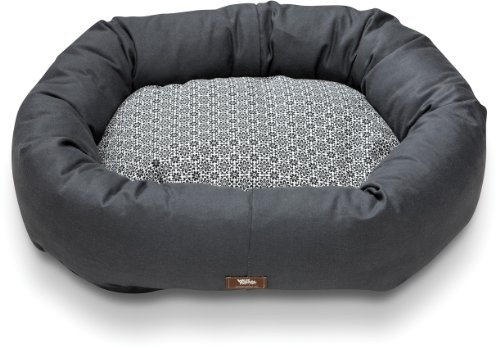 West Paw Design Hemp Bumper Bed Large 37 by 32-Inch