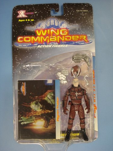 Wing Commander Pilgrim Traitor Figure 1999 X Toys