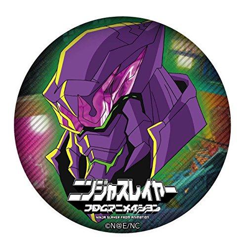 缶バッジニンジャスレイヤーフロムアニメイション02ダークニンジャ