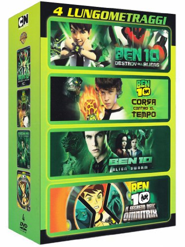 Ben 10 film collection [4 DVDs] [IT Import]