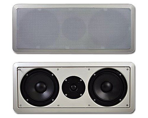 Acoustic Audio Cc6 6.5-Inch Center Channel With Crossover (White)