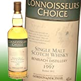 ゴードン&マクファイル ベンリアック 15年 1997 43% 700ml コニサーズ チョイス イギリス・スコットランド ベンリアック蒸留所 ボトラーズ ウイスキー シングルモルト スコッチ