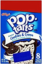 Kellogg39s Pop Tarts Frosted Cookies amp Creme 8x50g - Pack of 2