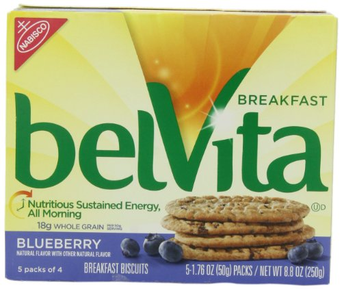 Belvita Breakfast Biscuit, Blueberry, 8.8-Ounce (Pack of 3)
