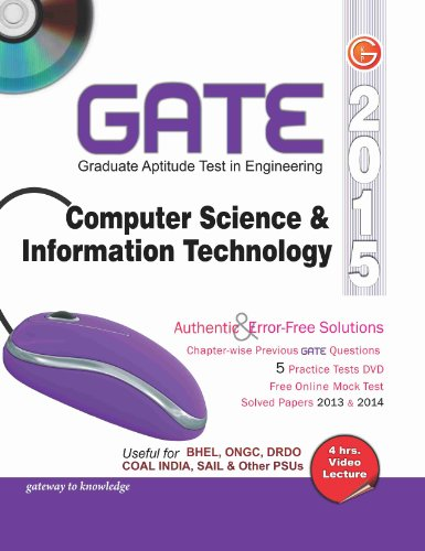 GATE Guide Computer Science & Information Technology Engineering 2015