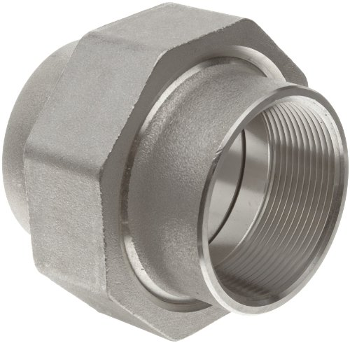 Stainless steel pipe fitting union class npt