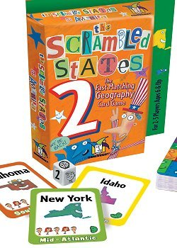Scrambled States Card Game