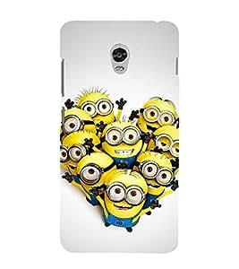 Vizagbeats minion selfie Back Case Cover for Lenovo Vibe P1