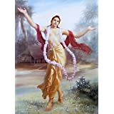 "Dolls Of India ""Chaitanyadev - Devotee Of Lord Krishna"" Reprint On Paper - Unframed (43.18 X 34.29 Centimeters..."