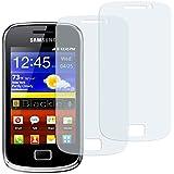 2 x mumbi Displayschutzfolie Samsung Galaxy mini 2 S6500 Schutzfolie