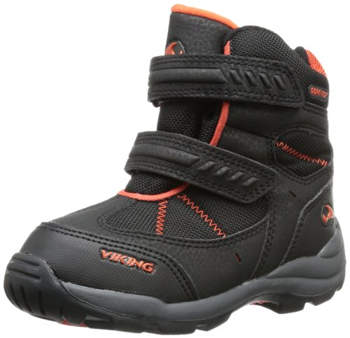 Viking Boys Toasty Gore-Tex® Outdoor Fitness Shoes Black Schwarz (black/orange 231) Size: 23