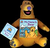 img - for My Name Is Bear: Mini Board Book and Plush (Bear in the Big Blue House (Board Books Simon & Shuster)) book / textbook / text book