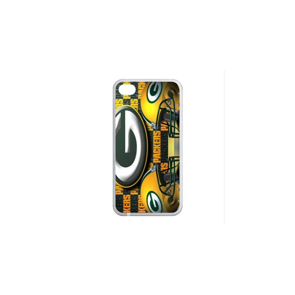 B2CSELLER Premium Customized the North Division of the National Football Conference (NFC) in the National Football League (NFL) Green Bay Packers fit flexible TPU Case Cover for Iphone4/4S