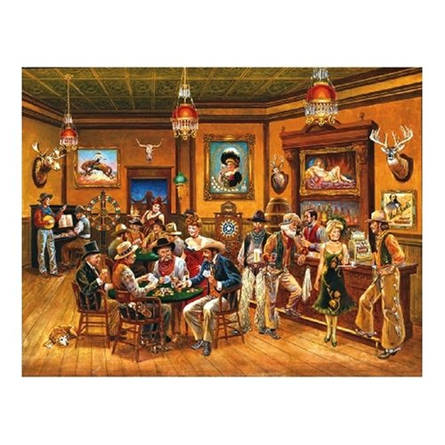 Cheap SunsOut The Saloon Jigsaw Puzzle 1000pc (B000BXJYPS)