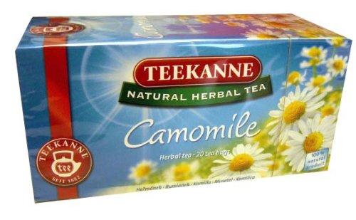Chamomile Tea Bags (Teekanne) 20 Tea Bags