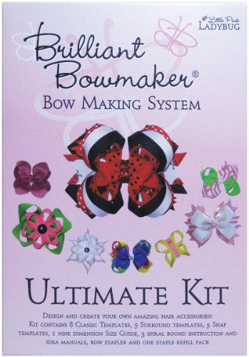 Best Deals! Little Pink Ladybug Brilliant Bowmaker Ultimate Kit