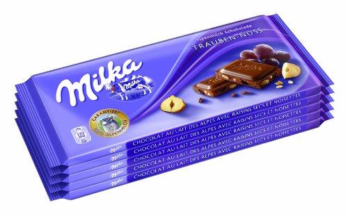 Milka Trauben - Nuss 5er, 1er Pack (1 x 500 g)