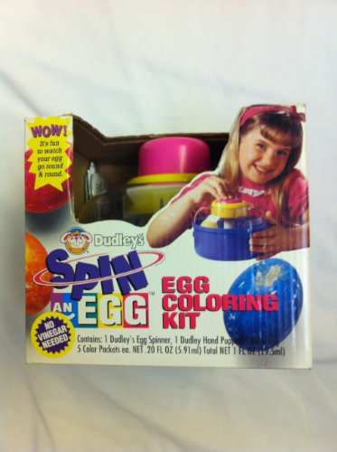 Dudley's Spin an Egg Coloring Kit - 1