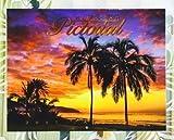 ○o。【ABC限定!!】2017年ハワイアンカレンダー【Pictorial】ハワイ直輸入・数量限定!!ハワイアン雑貨*ハワイ 雑貨*ハワイアンインテリア*ラニカイビーチ*ワイキキ*海*ハワイカレンダー。o○