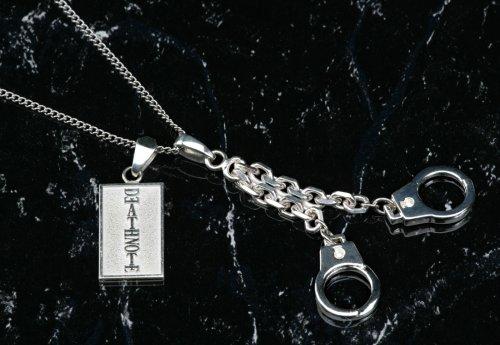 デスノート キラとLの手錠チャーム キャスト(メタルコート)製アクセサリー(チャーム)