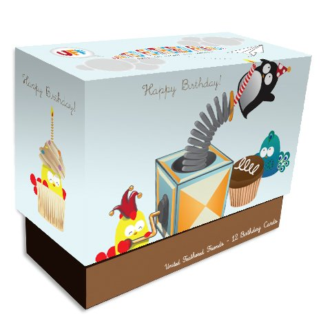 UFF Birthday Surprise Boxed Cards