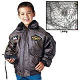 Kids WW11 Aviator Flight Jacket