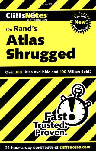 CliffsNotes on Rand's Atlas Shrugged (Cliffsnotes...