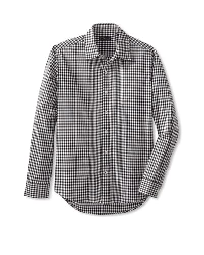 7 Diamonds Men's Heart Of The Matter Checked Long Sleeve Shirt