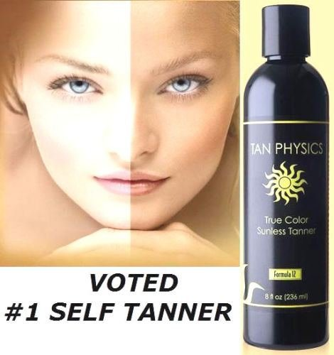 Tan Physics True Color Rated #1 Sunless Tanner Tanning Lotio