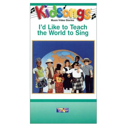 : Kidsongs - I'd Like To Teach The World To Sing [VHS]: The Kidsongs