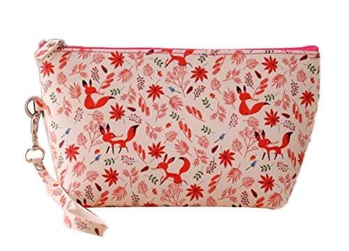 CINEEN Impermeabile Cosmetici Borsa da Viaggio, Portafogli da viaggio Beauty Case Trousse Toiletry Bag Borsa a mano Multicolore