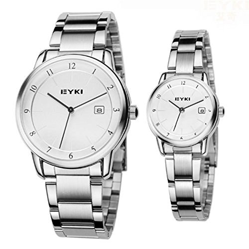 New Stainless Steel Waterproof Fashion Lovers Watches Men Luxury Relogios Brand Bracelet Wathes For Men Women