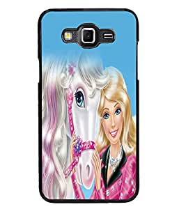 PRINTSWAG ANGEL WITH HORSE Designer Back Cover Case for SAMSUNG GALAXY GRAND 3