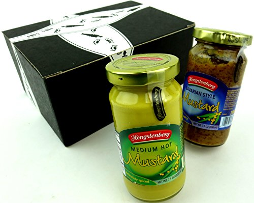 Hengstenberg Mustards 2-Flavor Variety: One 7.1