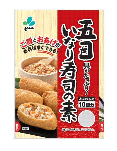 新進 五目いなり寿司の素 130g×10個