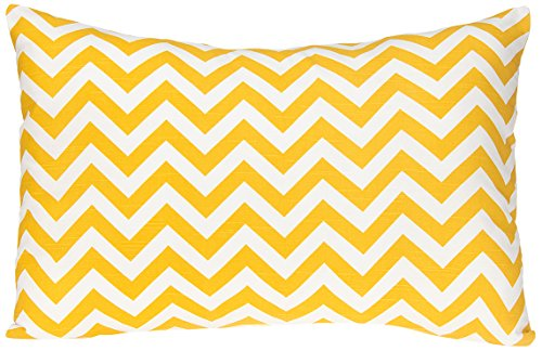 Sweet Potato Swizzle Small Sham, Yellow/White